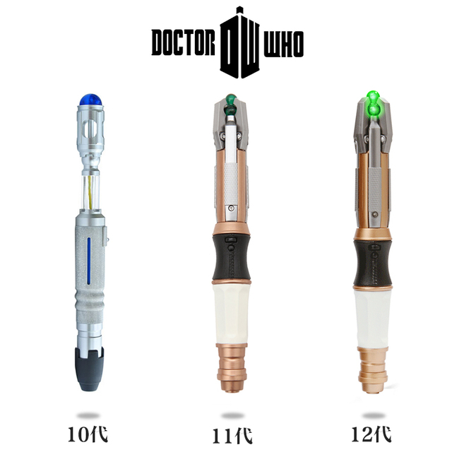 Doctor Who 10th 11th 12th Sonic Screwdriver - Peter Capaldi - With Lights and Sounds