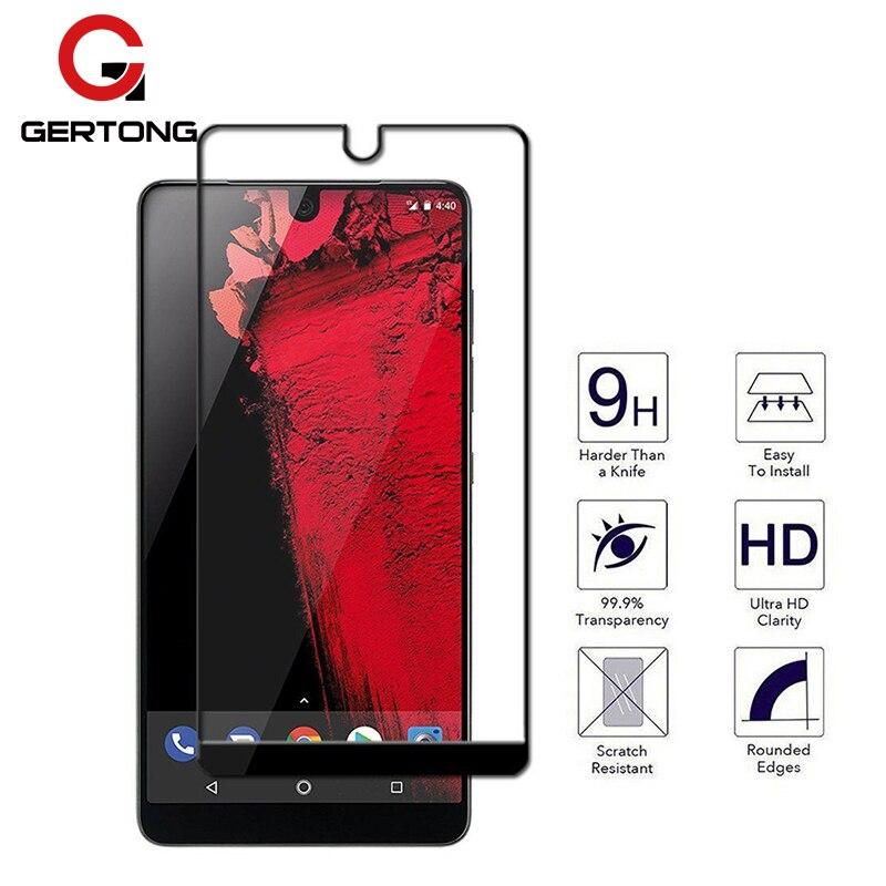 GerTong Full Cover Tempered Glass For Essential Phone PH-1 Front Toughened Glass For Essential Phone PH-1 5.71