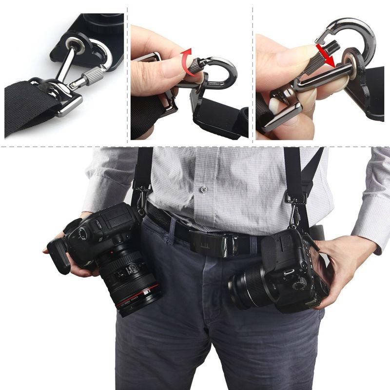 Camera Double Shoulder strap (5)