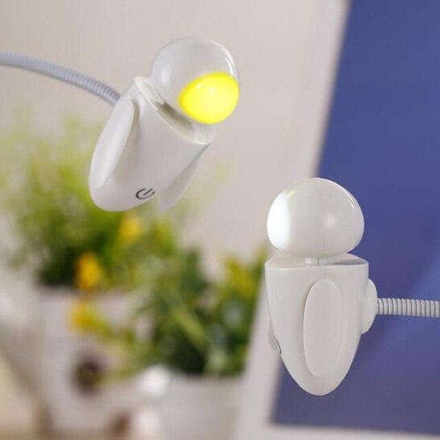 Fashion Creative Robot Night Light Novelty Gadget USB Led Light With Adjustable Luminance Led Night Light