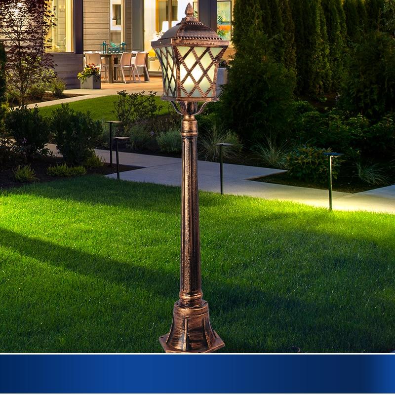 Buy outdoor garden lights lawn lamp for Outdoor lighting companies
