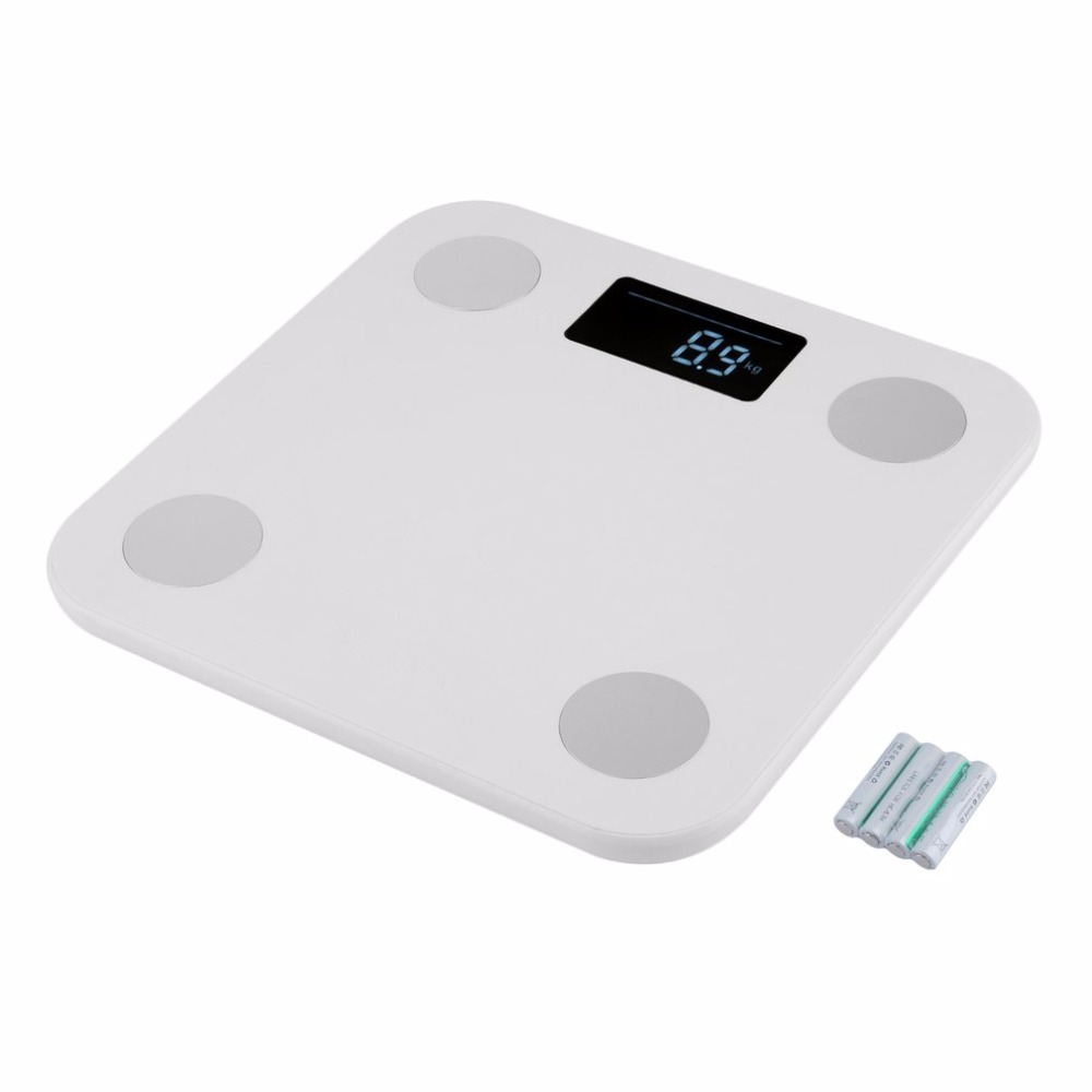 Mini Smart Weighting Scale Digital Household Body Scale LCD Display Electronic Weight Balance Health Care new 2 0 lcd digital personal body weight scale 150kg 100g 2 x aaa