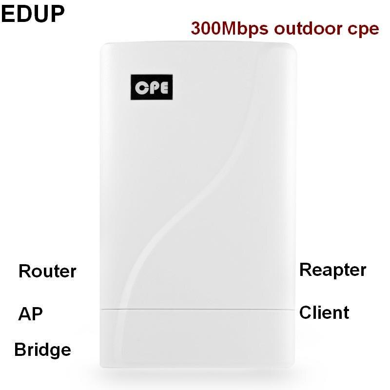 802.11n 300 Mbps 2.4 ghz wifi sans fil extérieur cpe pont routeur ap répéteur wifi amplificateur de signal extension haute puissance longue portée