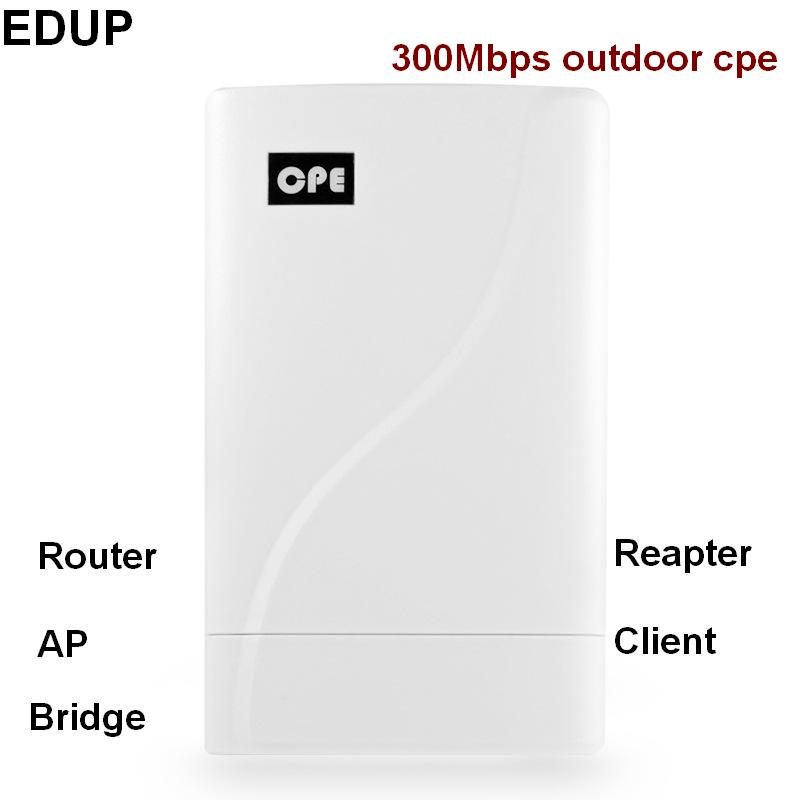 802.11n 300 Mbps 2.4 ghz sans fil wifi extérieure cpe pont routeur ap répéteur wifi amplificateur de signal extender haute puissance longue gamme