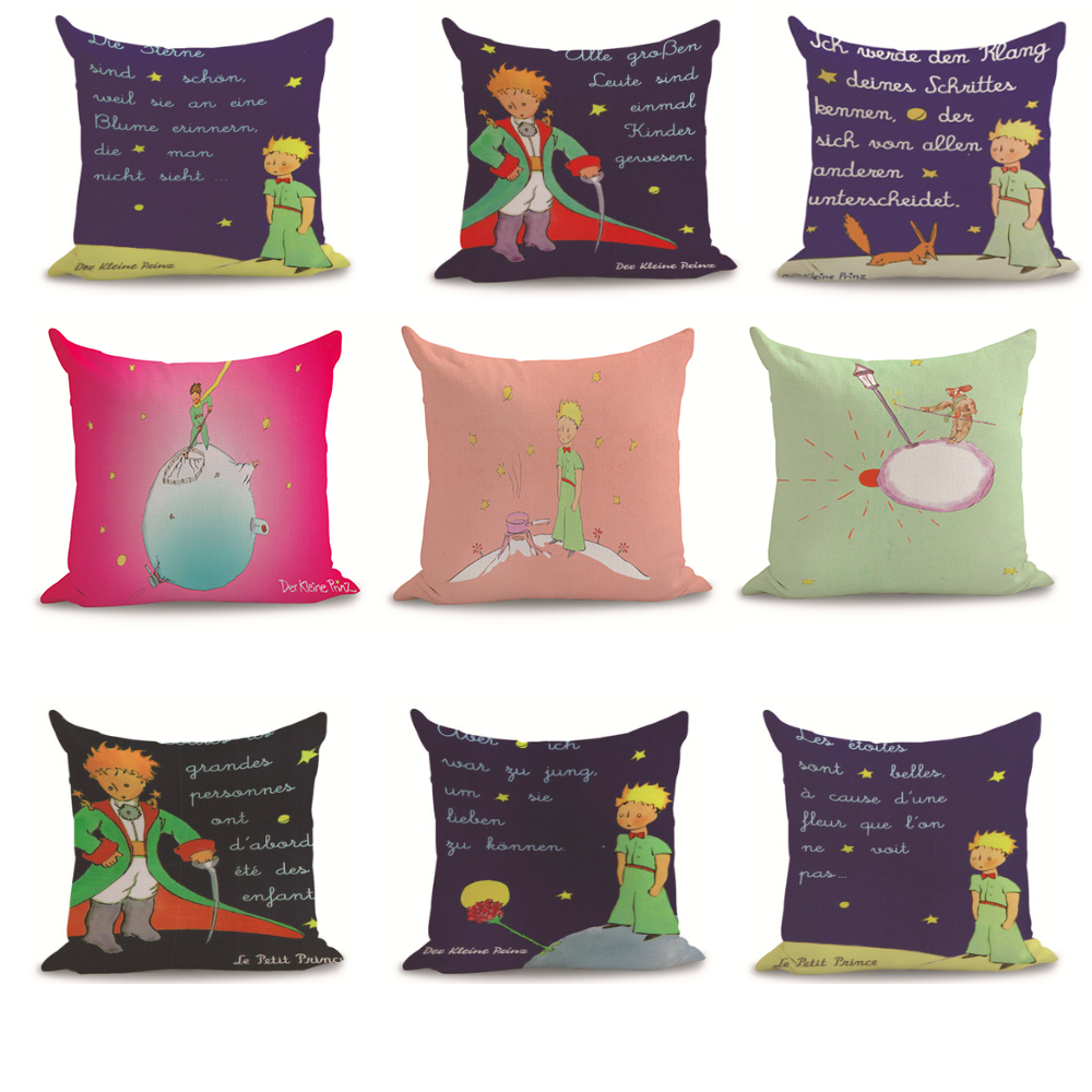 Pleasant The Little Prince Pillow Case Vava Home Gmtry Best Dining Table And Chair Ideas Images Gmtryco