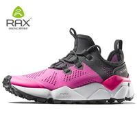 Rax Women Breathable Hiking Shoes Cushion Outdoor Sport Shoes Climbing Trekking Shoes For Women Pink Sneakers Brand Hike Sneaker