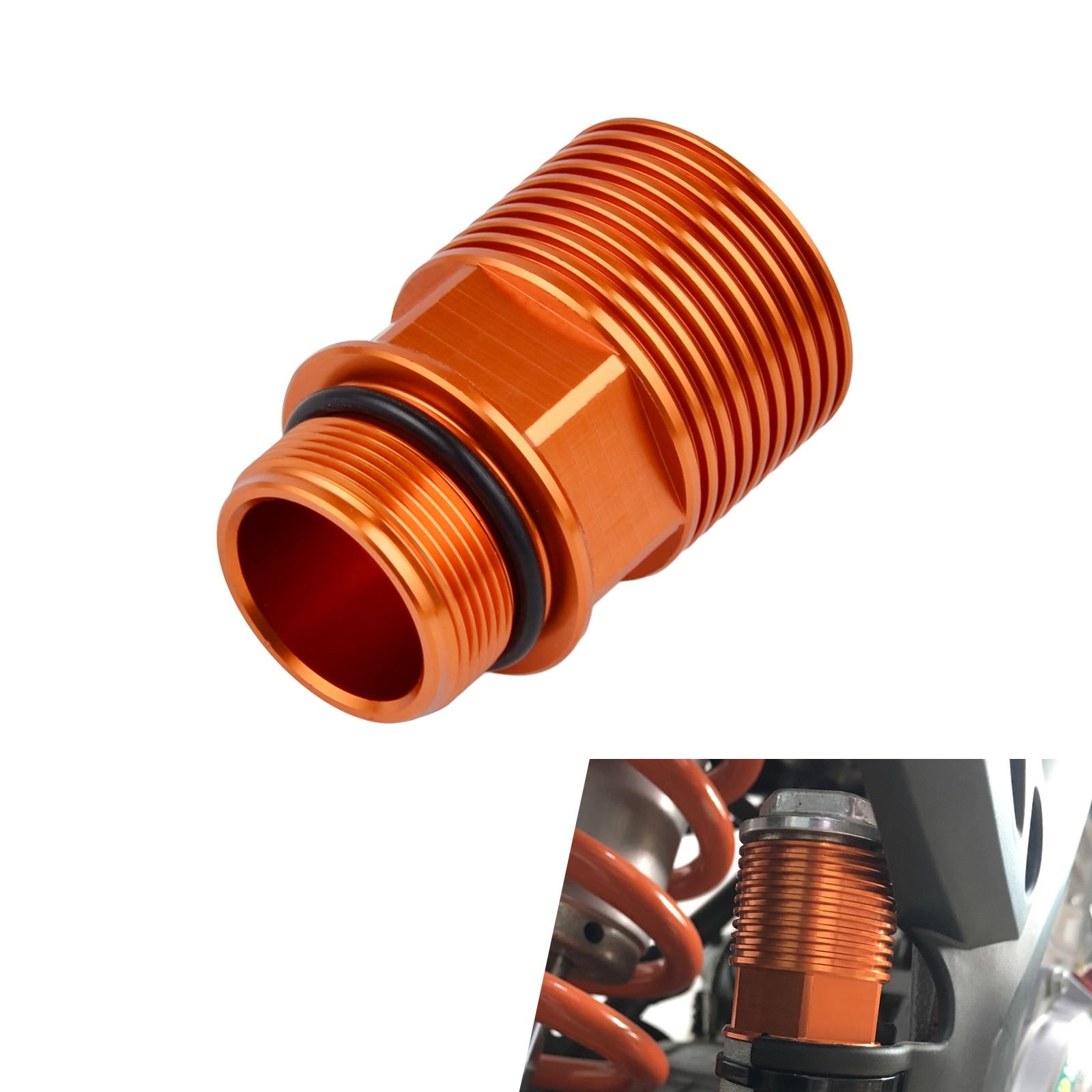 NICECNC CNC Rear Brake Reservoir Extender For KTM 125 144 150 200 250 350 400 450 500 525 530 SX SXF SX-F EXC EXC-F EXCF nicecnc cnc billet brake clutch