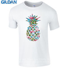 Funny Graphic Tees Short O-Neck Best Friend  Flamingo Pineapple Swag Tropical Fruit Shirts For Men