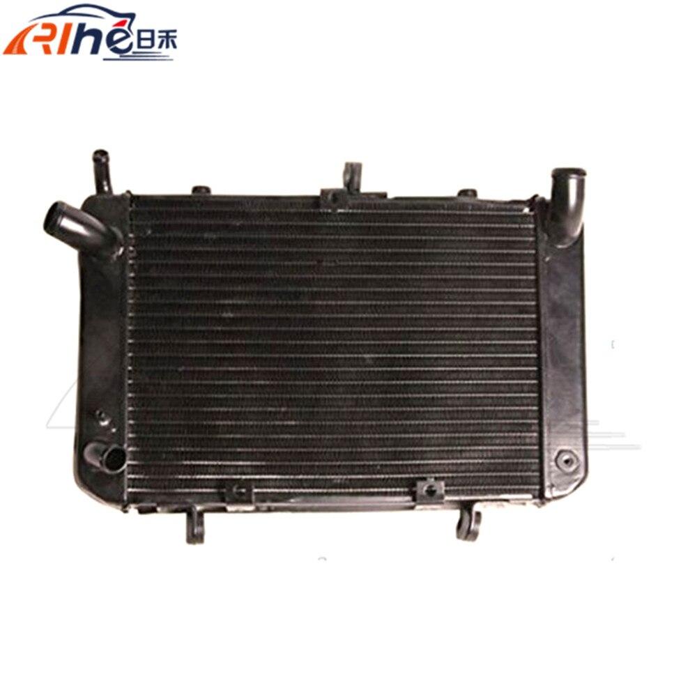 new motorcycle accessories radiator cooler aluminum motorbike radiator For SUZUKI GSR400/600 2004 2005 2006 2007 2008 2009 2010