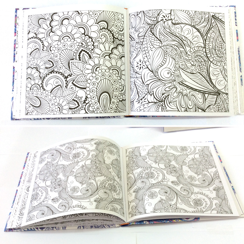 Online Shop Mandalas Adults Coloring Book Comic Books Relieve Stress Graffiti Secret Garden Children Art
