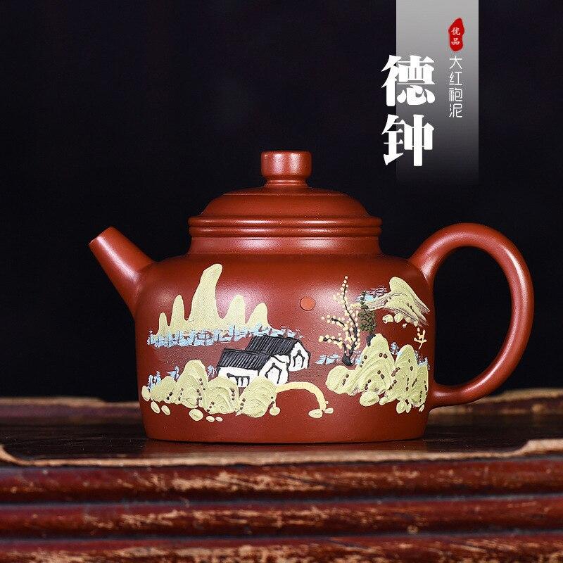 Bell émaillé poterie théière fabricant en gros génération livrer des marchandises Wechat entreprise approvisionnement marchandise célèbre manuel complet