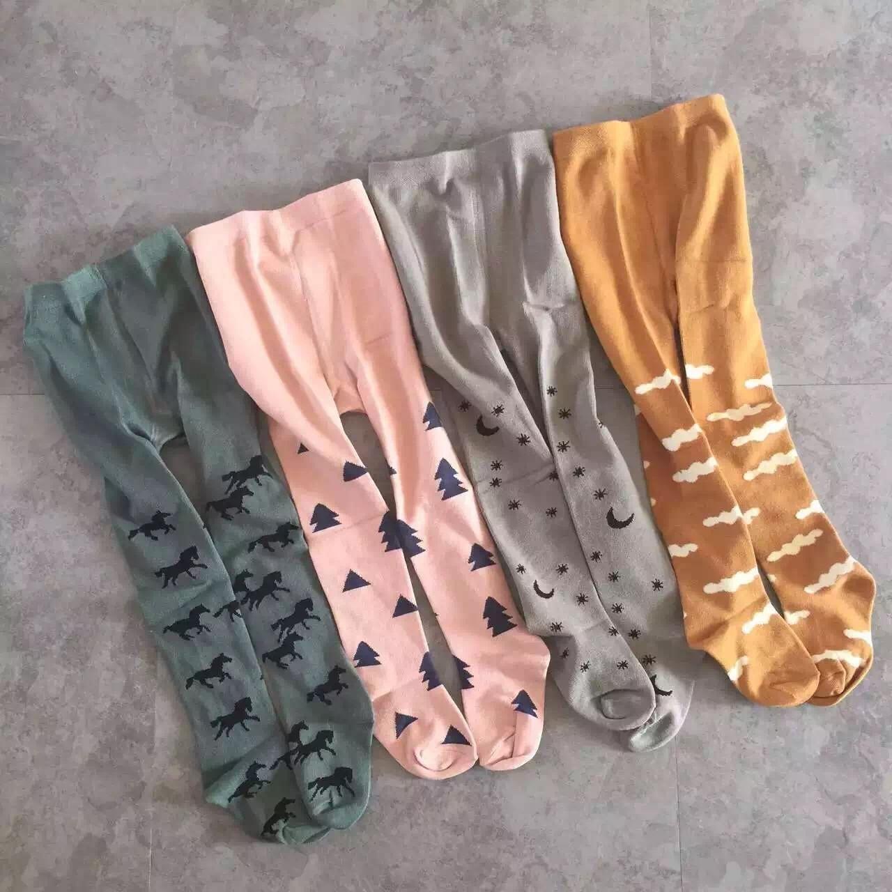 2018 autunno inverno bobo sceglie bambino 100% ins caldo cotone collant ragazze legging di spessore legging termico pantaloni del bambino vestiti della ragazza