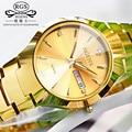Relógios femininos relógios de Luxo esportes Da mulher Da Forma relógio de pulso de aço de tungstênio das mulheres à prova d' água calendário relógio de quartzo ocasional
