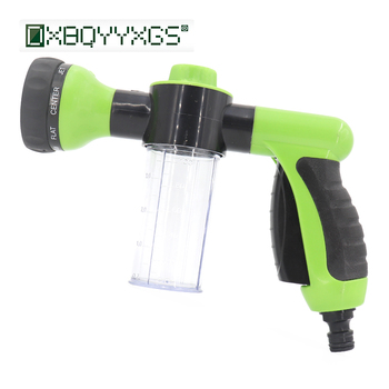 8 in 1 Garden Foam water gun Home Multi-function irrigation Watering car cleaning spray gun High Pressure Hose nozzle tool