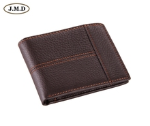 8064C  2014 October New Arrival Coffee High Quality Vintage Genuine Leather Man Wallet Purse