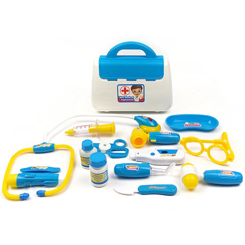 Toy Doctor Kit : New baby kids funny toys doctor play sets simulation