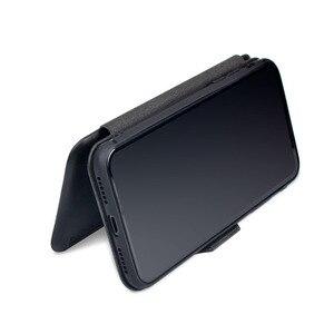 Image 3 - Pu capa carteira de couro para iphone 6s 7 8 plus, com porta cartões suporte e dinheiro de bolso capa de silicone macio para xr xs xmax