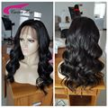 Brazilian Virgin Hair Lace Front Human Hair Wig For Black Women Body Wave With Baby Hair Full Lace Human Hair Wigs 150 Density