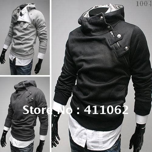 NEW Mens Hot Sexy Punk Bomber Biker Motorcycle Slim Fit Fitted ...