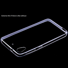 Ultra Thin Transparent Clear TPU Case For HTC Desire one 626 Crystal Back Cover Silicone Gel Mobile Phone Bags for HTC