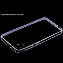 Ultra fino transparente de TPU para HTC Desire 626 cristal Gel de Silicone capa celular bolsa para HTC
