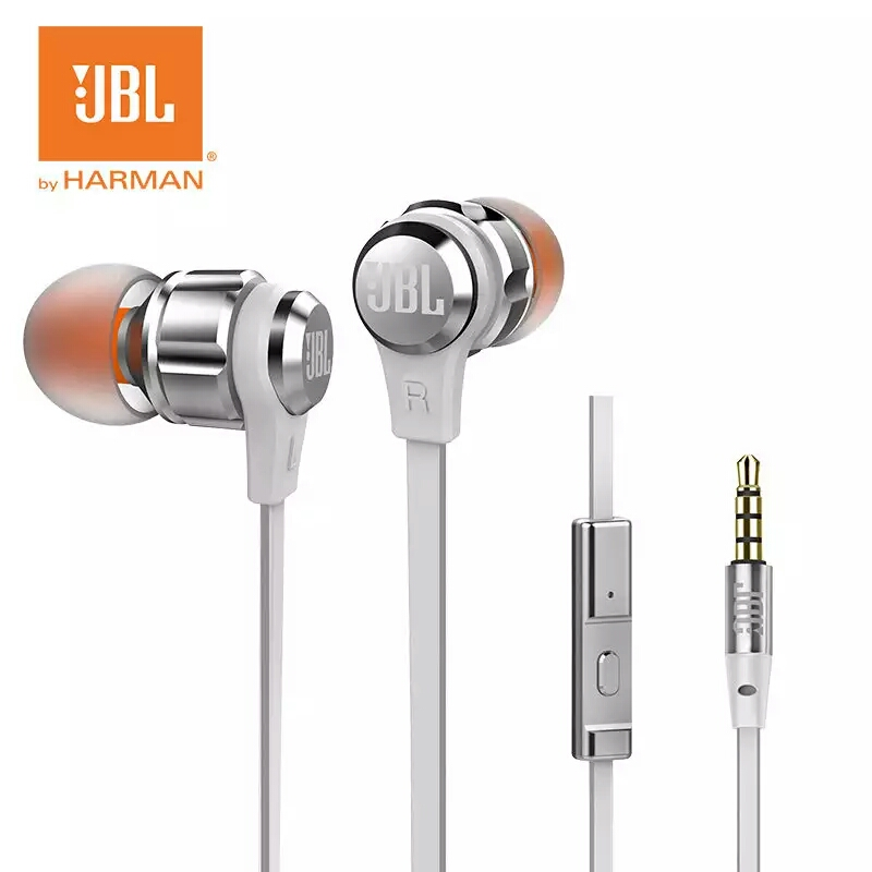 JBL T180A In-ear Go Earphones Remote With Microphone Sport Music Pure Bass Sound Headset For leagoo s9 iPhone Smartphone ovevo s9 wired in ear earphones mint green