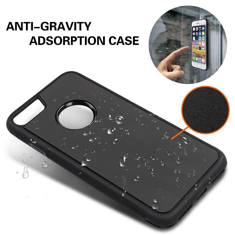 GYKZ Anti-gravity Phone Case För iPhone 6 6S Plus 5S SE Antigravity - Reservdelar och tillbehör för mobiltelefoner - Foto 6