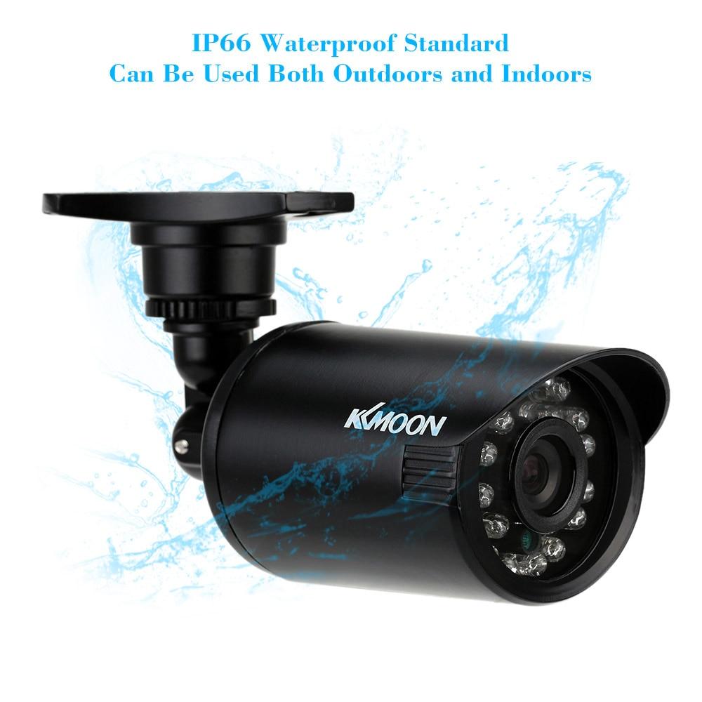 """bilder für KKmoon 800TVL CCTV Überwachungskamera Im Freien 1/4 """"Farbe CMOS Gewehrkugel Cctv-kamera Wasserdichte IR-CUT 24 Leds Mini Überwachungskamera"""
