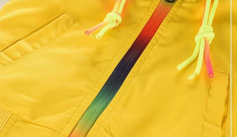 Осенняя ветровка для мальчиков и девочек; Верхняя одежда; куртки с капюшоном для девочек; Водонепроницаемая ветровка; Детское пальто для мальчиков