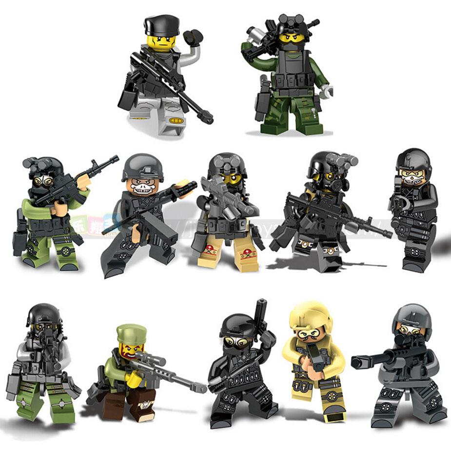 Military Counter Strike War Building Block Terrorist Ghost Assault