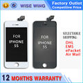 10/pcs For iPhone 5S LCD Screen Glass Replacement With Display Touch Screen Digitizer Assembly Black White Grade AAA+ DHL