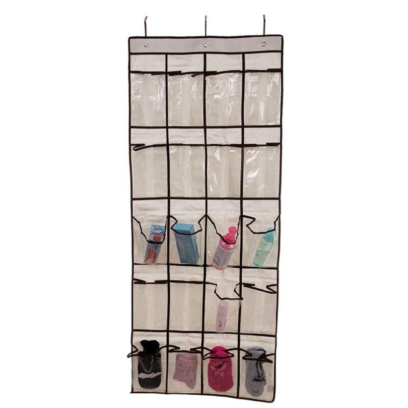 Practical 20 Pocket Hanging Bag Door Holder Shoe Storage Organizer Closet Hanger Organiser Ymp 26036 In Bags From Home Garden On Aliexpress