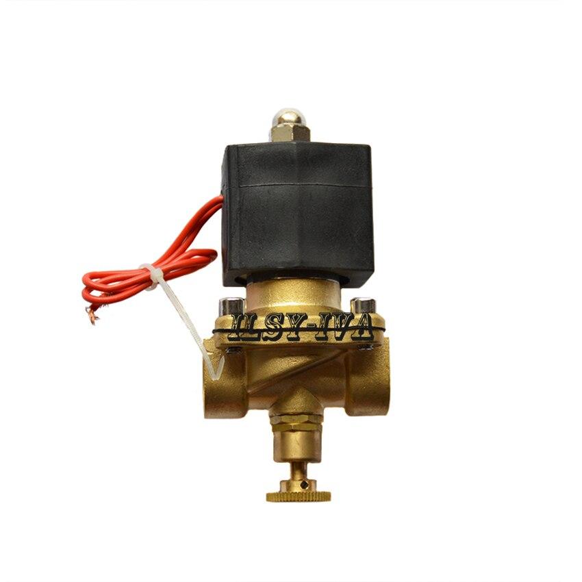 DC12V/DC24V brass ZCM series Gas solenoid valve,DN6~DN25 flow adjustment solenoid valve with manual rih 4m series solenoid valve 4m210 08 g1 4 4m series solenoid valve