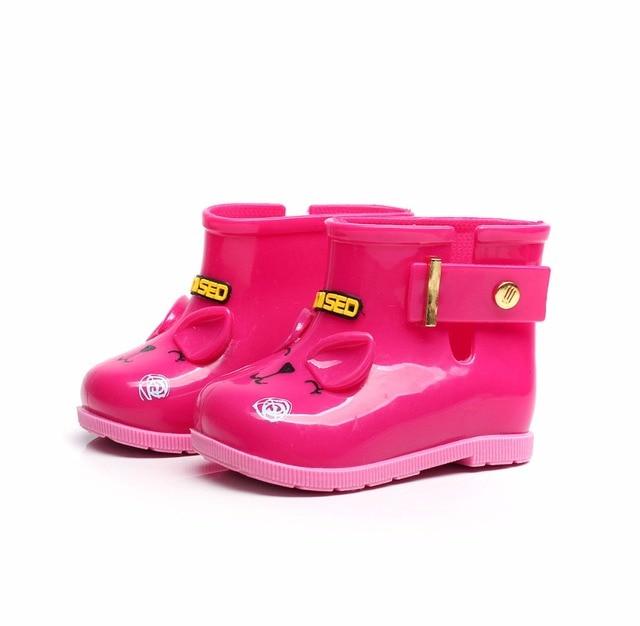 bajo precio f12b9 2195b Lindas botas de estilo Animal para niñas, Botas lluvia bebés, zapatos goma  niños