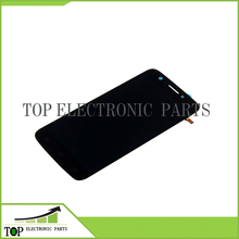 Free shipping 100% New Original 6 inch for Prestigio MultiPhone PAP 7600 Duo LCD Display + Touch Screen digiziter black color