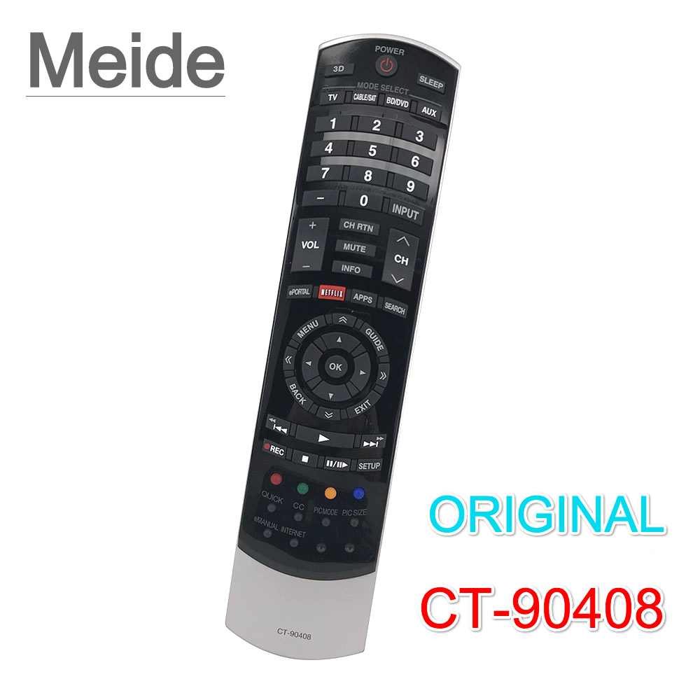 Genuine Original CT-90408 <font><b>Remote</b></font> <font><b>Control</b></font> <font><b>For</b></font> Toshiba TV Controle Remoto Controller Free Shipping