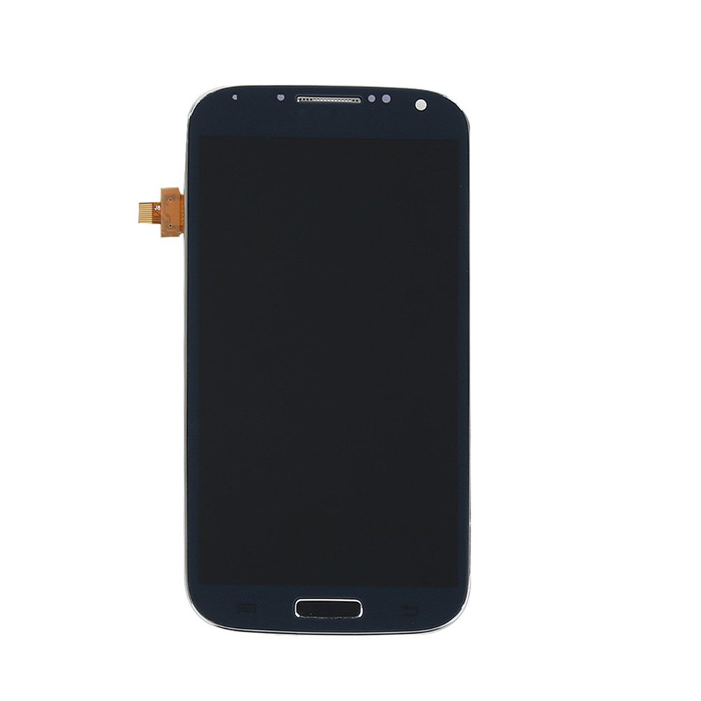 Mobile Phone Lcd For Samsung Galaxy S4 + Frame LCD Touch Screen Digitizer Assembly Replacement Galaxy i9505 Black Parts