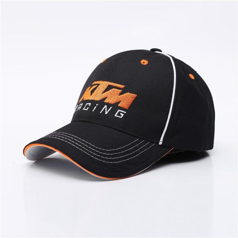 Caps for Men Baseball Cap Snapback Embroidery Letter Hat Trucker Hats Motor Racing Cap F1 Moto GP Caps Bone Casquette homme ktm