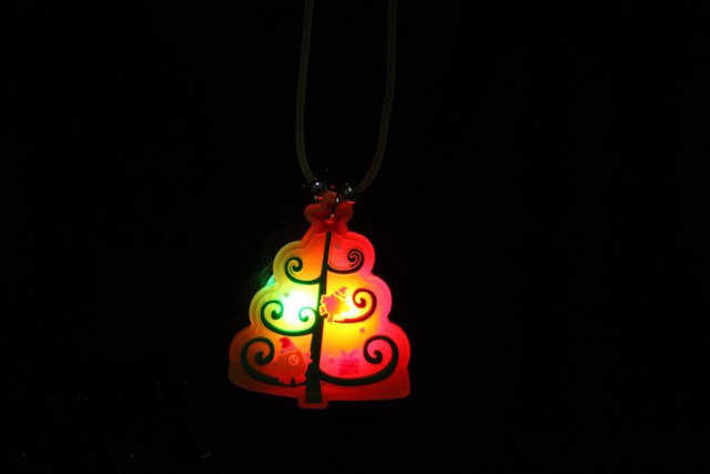 flashing necklace led glow toy light up toys christmas decoration - Light Up Christmas Decorations
