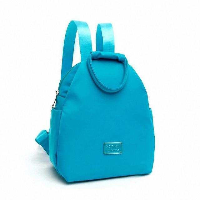 Women waterproof Nylon Backpack Shoulder School Bags For Teenagers Girls Female Casual Travel Bags Pack Mochilas Feminina LI-769