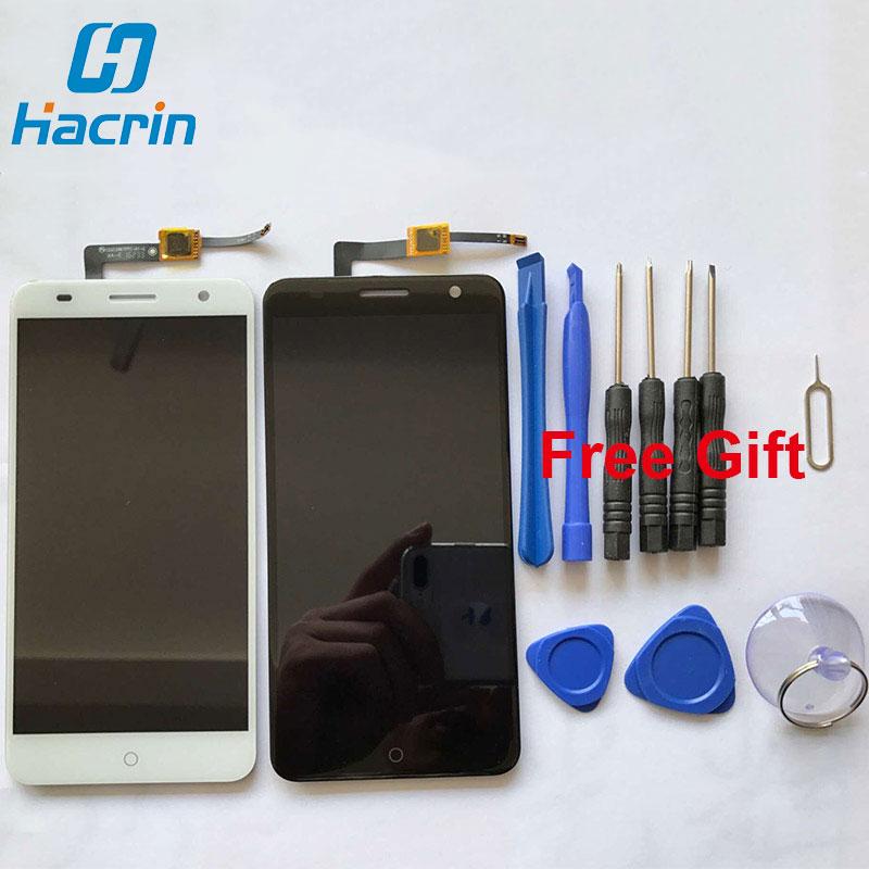 Prix pour Pour zte blade v7 lcd écran haute qualité accessoires lcd de remplacement affichage + écran tactile pour zte blade v7 5.2 pouces smartphone