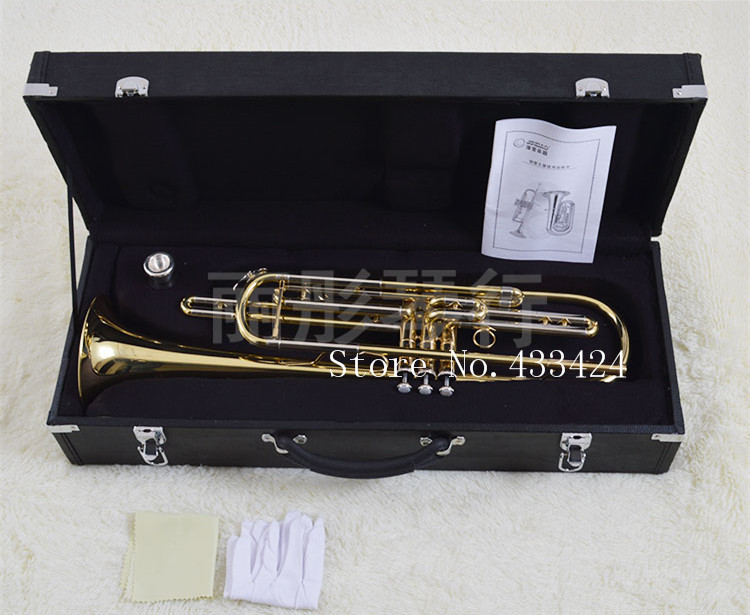 Musique originale jinbao trompette musical jbbt-1900 bb professionnel basse Instruments trompete trompettiste trompette trombeta tromba