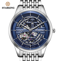 STARKING AAA Automatic Watch Men Luxury Brand Sapphire Crystal 28800 High Beat Movement Mechanic Watch Men 50M Waterproof AM0282