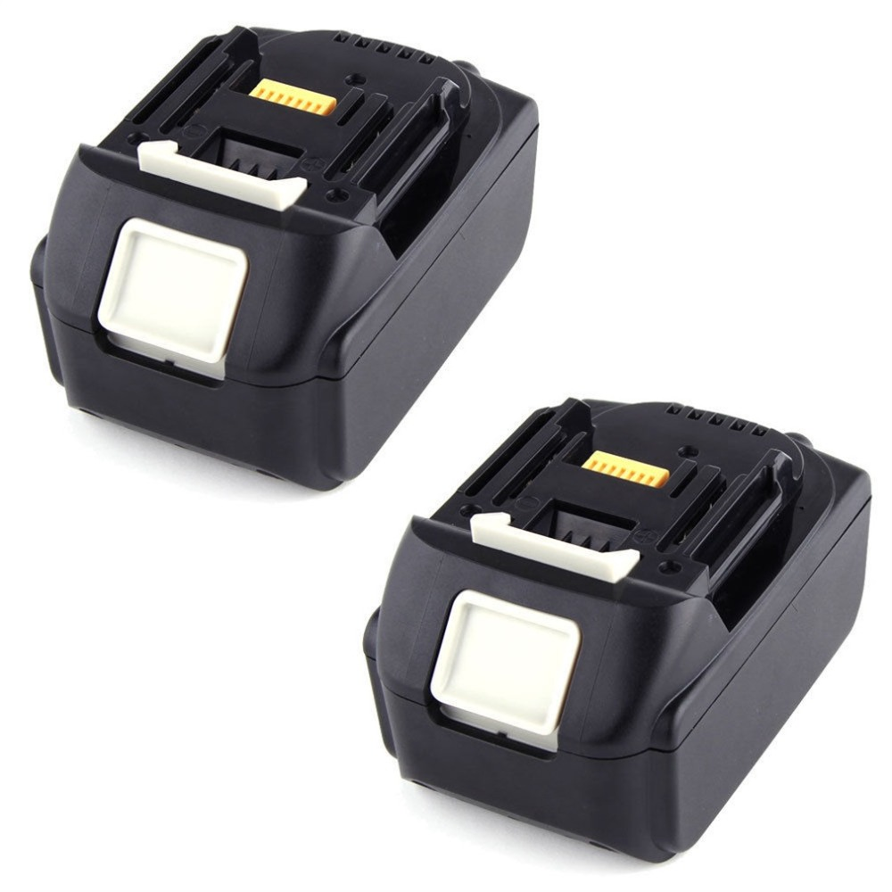 2 Pack 18V 3.0Ah Li-ion Lithium rechargeable battery new Power Tool Replacement Battery for MAKITA BL1830 Cordless Drill Battery free shipping new replacement power tool battery plastic case and hardwares for makita 18v bl1830 lithium