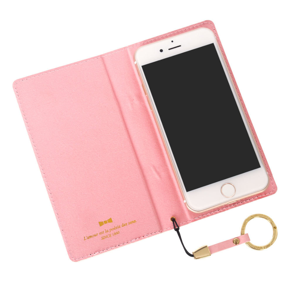 Universal Cute Bow Leather Cover Flip Case For iPhone X Xs 7 8 6 6S For Samsung Galaxy S6 S6EDG S7 A5 2017 A7 A8 2018 J3 J5 J7