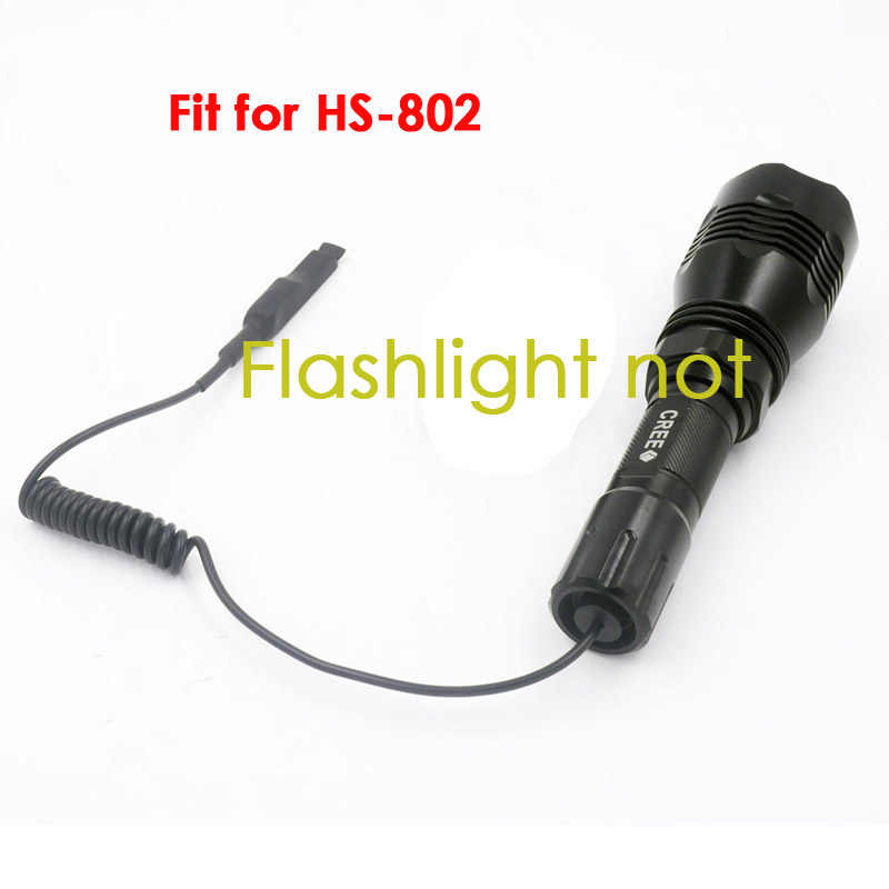 Dual Mode Remote Control Pressure Switch For HS-802 LED FLASHLIGHT