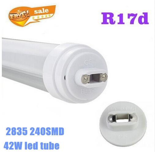 8 Ft 2 Lamp Fluorescent Strip Light White No Ssf2964wp 8ft: LED Tube Light R17D 8FT 2.4M 40W SMD2835 4200LM AC85 260V