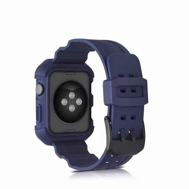 For Le Watch Case Band Integrated Compatible With Series 1 2 Rugged