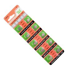 +Lowest Price+50 Pcs capacity alkaline lithium manganese button battery AG5/LR393A 1.55V f