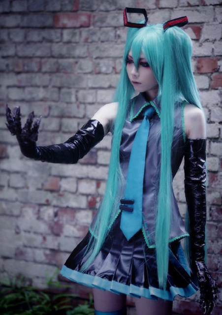 Vocaloid Hatsune Miku Cosplay Costume All Size Tailor Made Anime Manga Free Shipping NEW & Vocaloid Hatsune Miku Cosplay Costume All Size Tailor Made Anime ...